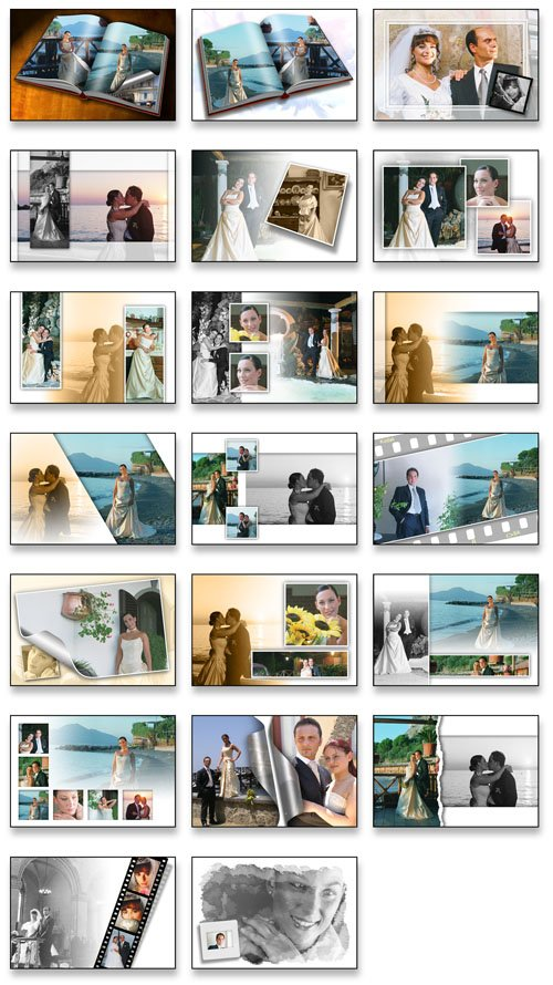 Creative Album PSD Wedding Collection VOL 2
