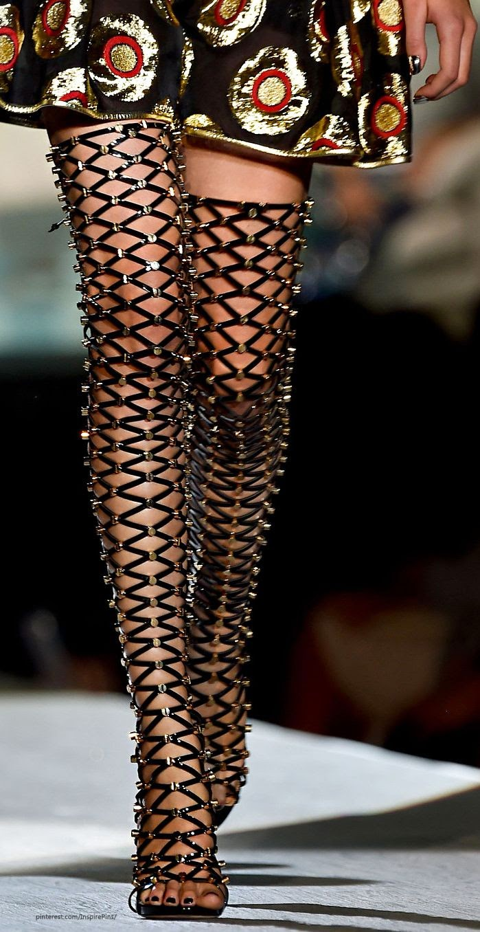 Fetish Fashion :  Dsquared² Shoes Milan Spring 2015