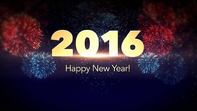 HAPPY NEW YEAR!!! WELCOME TO 2016!!!