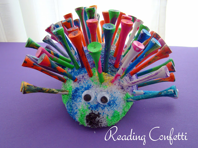 A Porcupine Named Fluffy Crafts