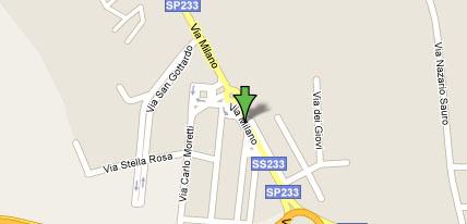 Leroy merlin online baranzate mappa for Leroy merlin catalogo generale