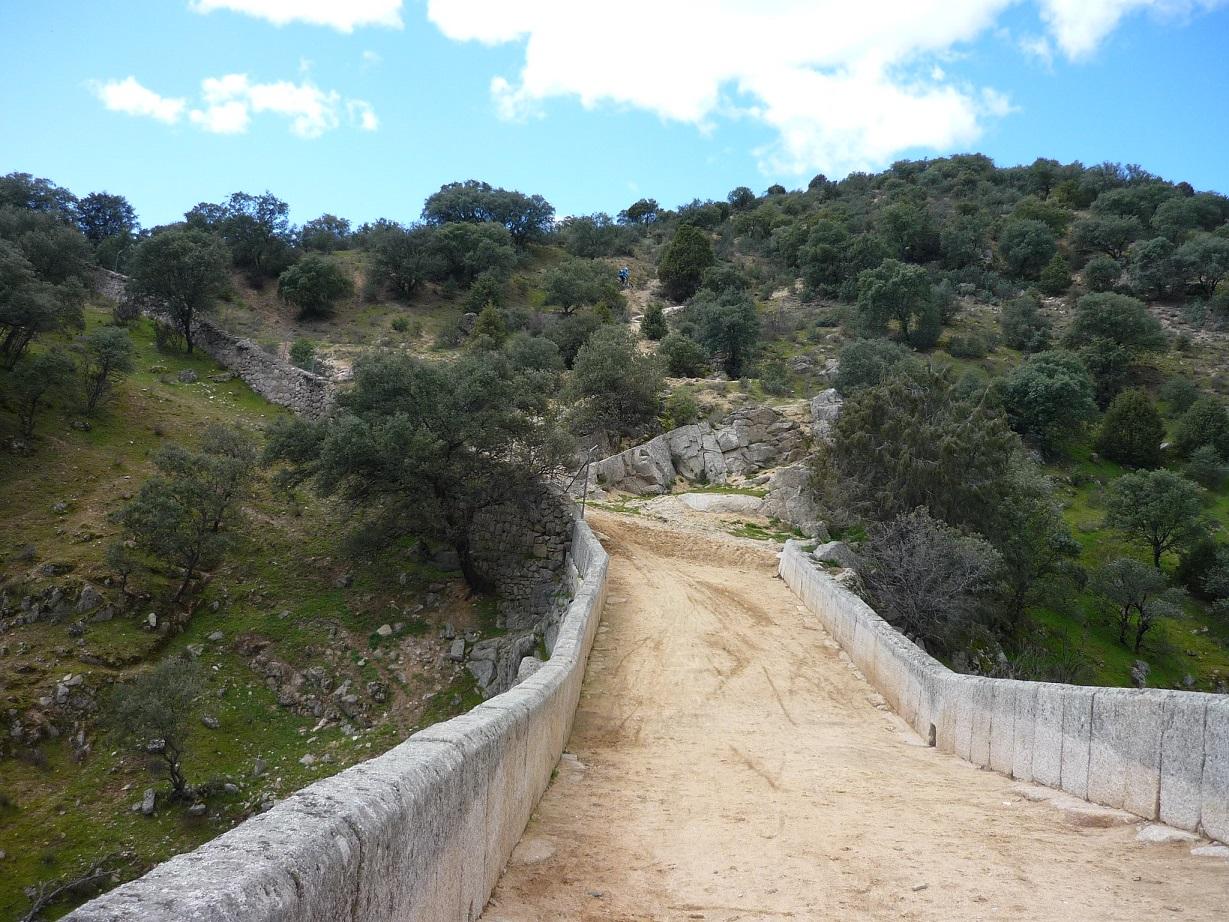 Blog Go Tandem -  Trazado Marcha Colmenar P.2 - calzada puente Marmot