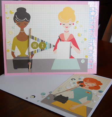 Scrapbook Card Design by Kimberly Archer