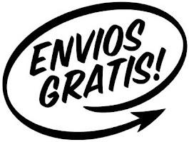 ENTREGA y ENVIOS GRATIS !!!