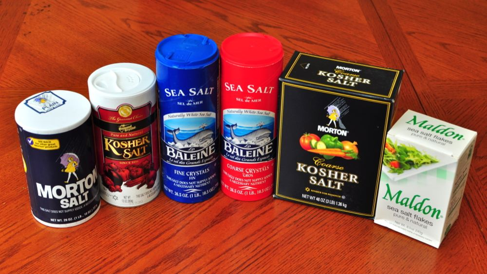 Salt by weight dad cooks dinner for What does it mean to have a kosher kitchen