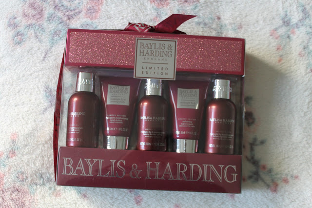 What I Got For Christmas: Beauty Edition Baylis & Harding Limited Edition Midnight Fig & Pomegranate Gift Set Body Wash Hand Cream Body Lotion Shower Creme