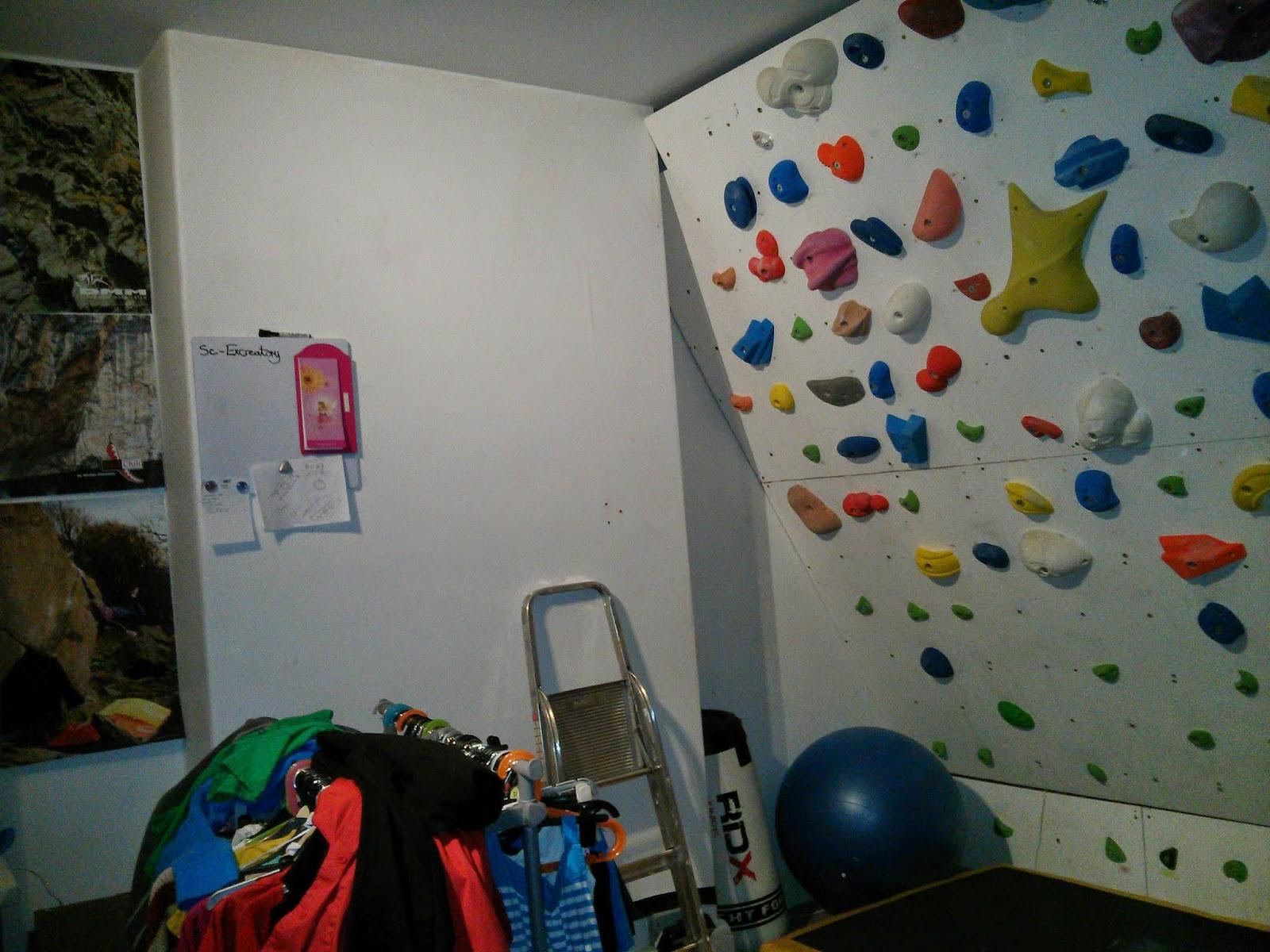 Emilys Climbing Blog Extending My Home Climbing Wall