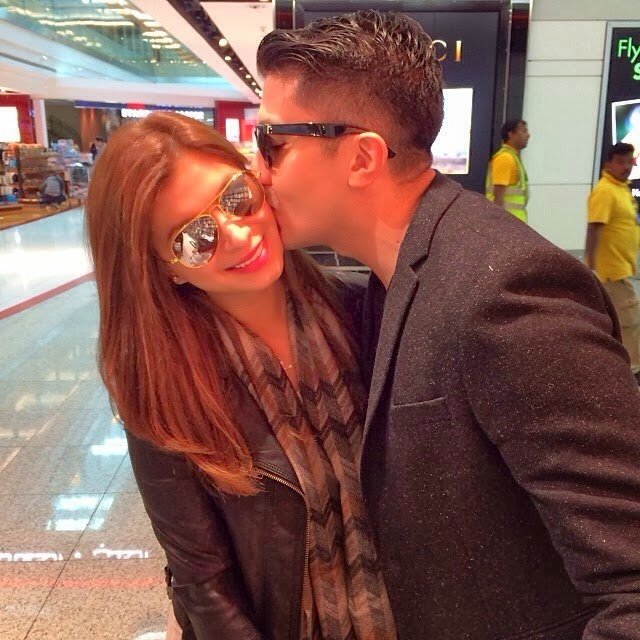 Angel Locsin and Luis Manzano kissed in dubai
