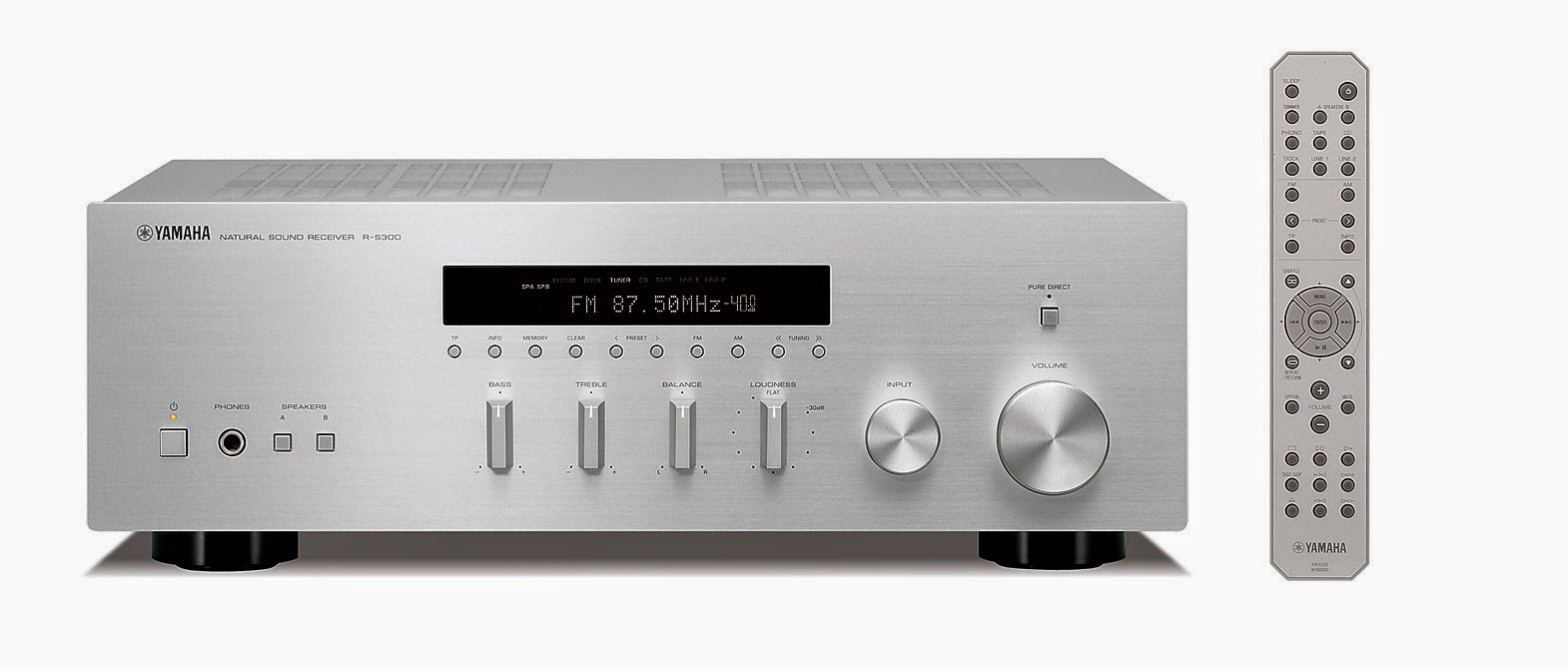 yamaha r s300 stereo receiver audiobaza