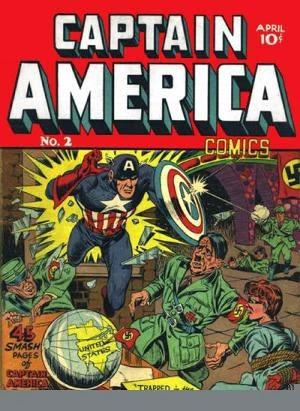 Captain America Comics #2 image
