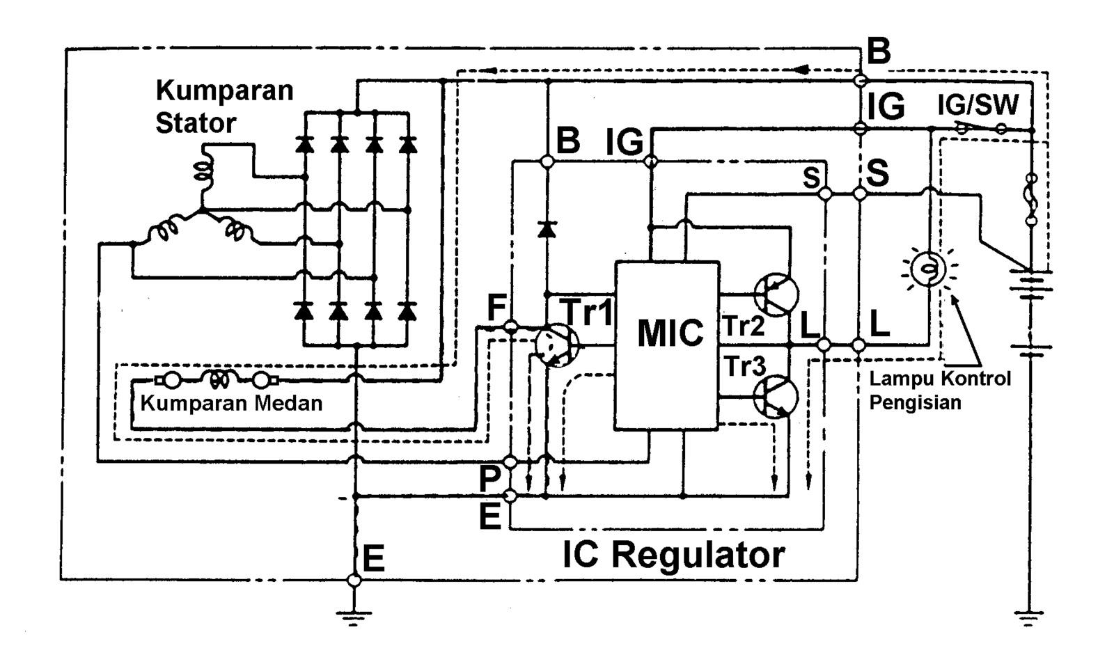 M maulana syahputra sistem pengisian gambar 2 diagram rangkaian sistem pengisian ccuart Gallery