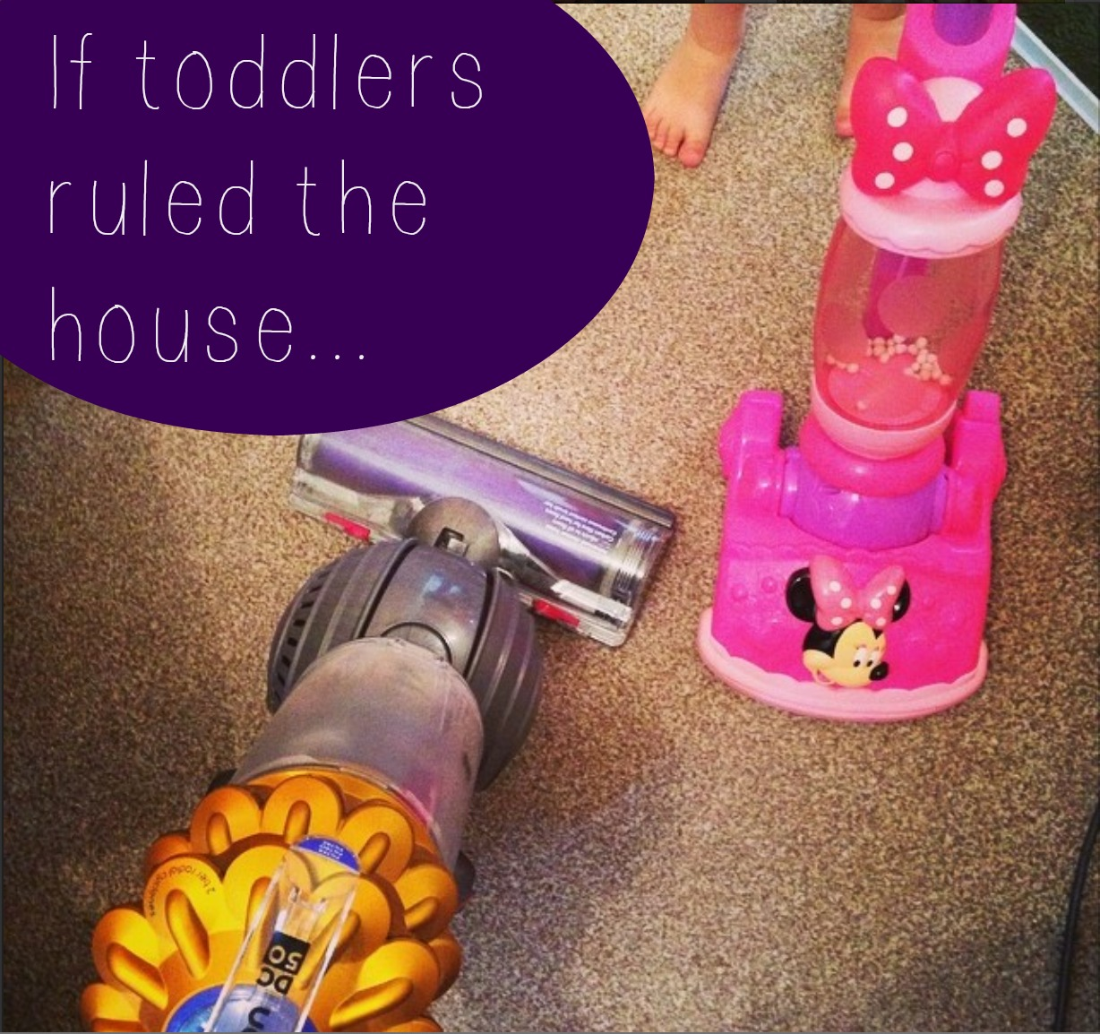 V. I. BABYBRAIN: Would it be more fun if toddlers made the house rules…