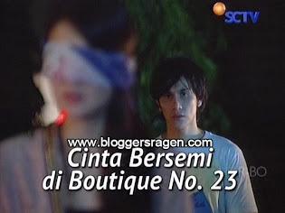 Cinta Bersemi Di Boutique No 23 FTV