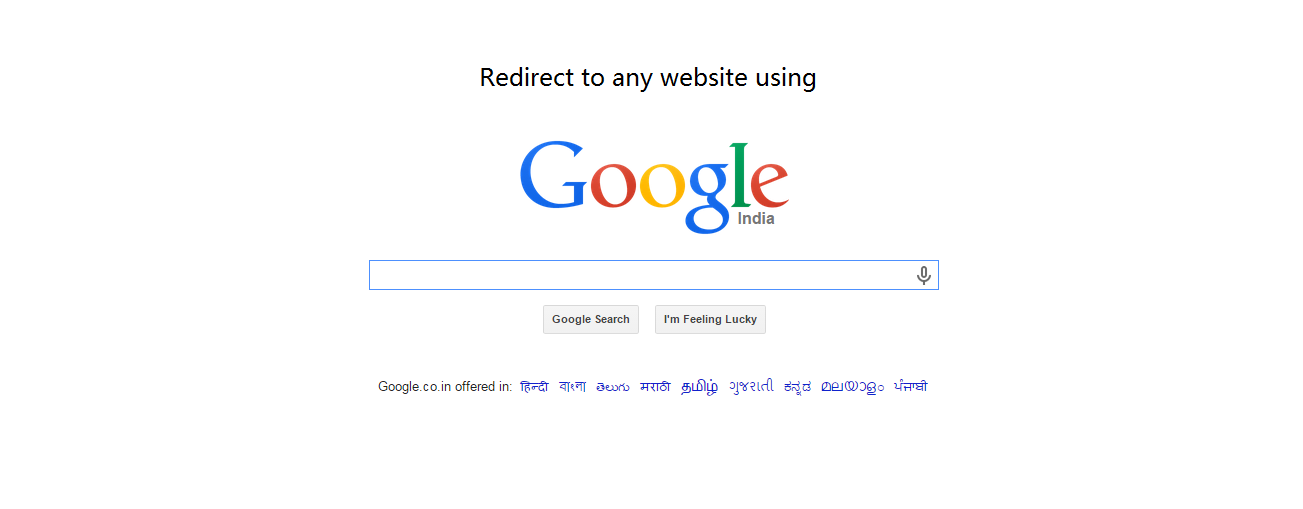 how to stop webpage redirect