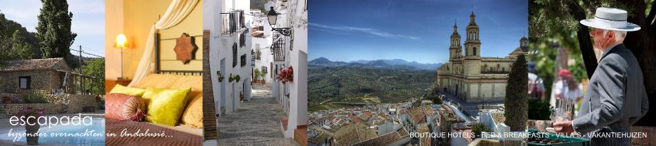 Escapada | bijzonder overnachten in Andalusië