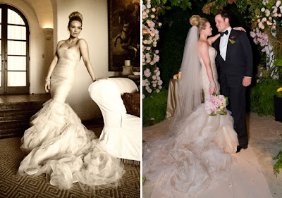 wedding gowns and celebritites