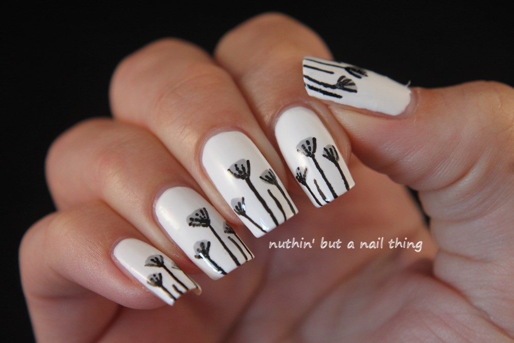 Nuthin But A Nail Thing Dainty Flower Nail Art