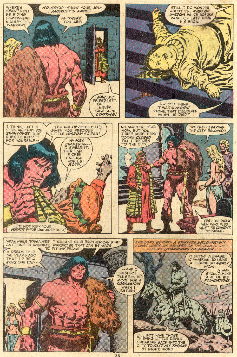 Conan the Barbarian (1970) Issue #112 #124 - English 15