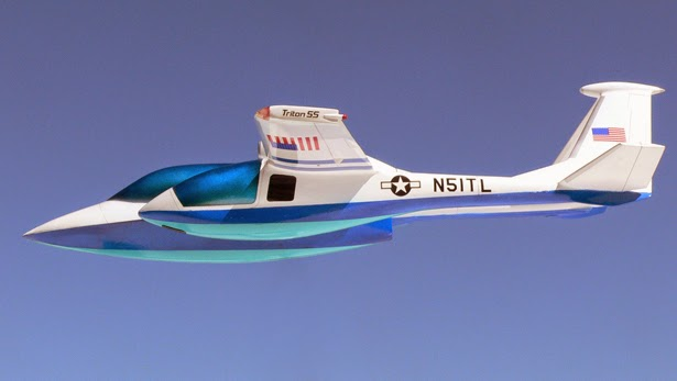 Concept Aircraft - Aviation Summit - Triton - Micronautix