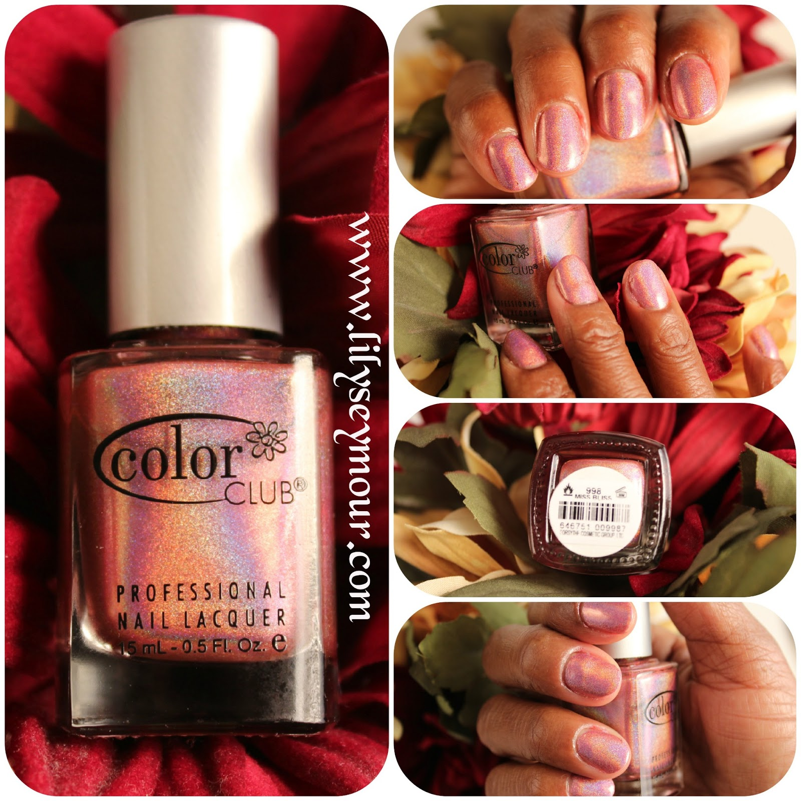 Fun Fierce Fabulous Beauty Over 50!: Nails ~ Miss Bliss from Color Club