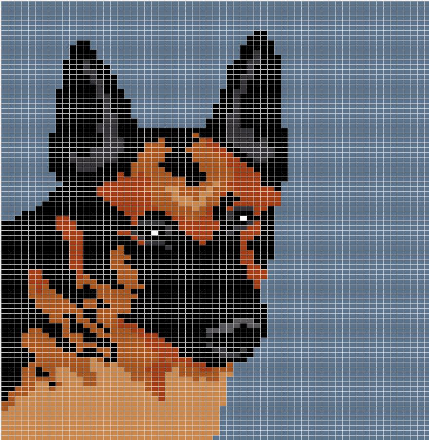 Knitting Chart No Stitch : Witchwolfweb creations charts german shepherd