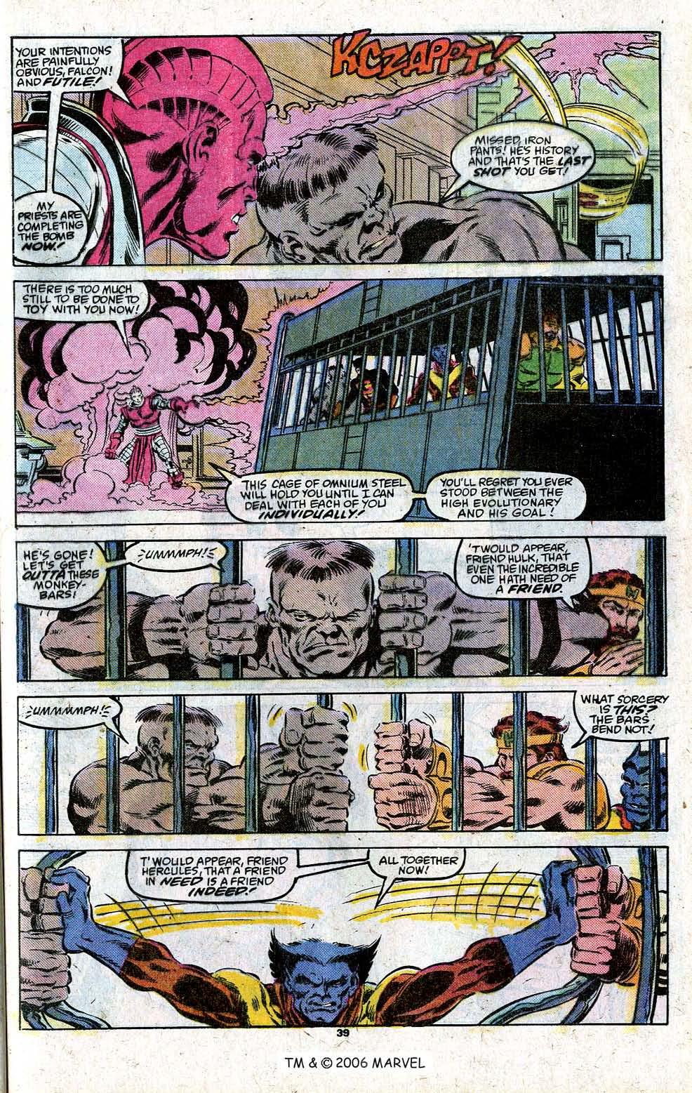 Captain America (1968) Issue #348c #280 - English 41