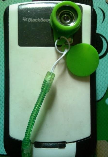 Cara Pasang Jelly Lens hijau
