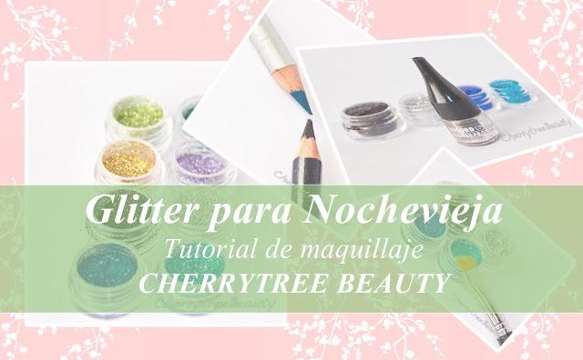 Del glitter y sus usos. Maquillaje especial Nochevieja