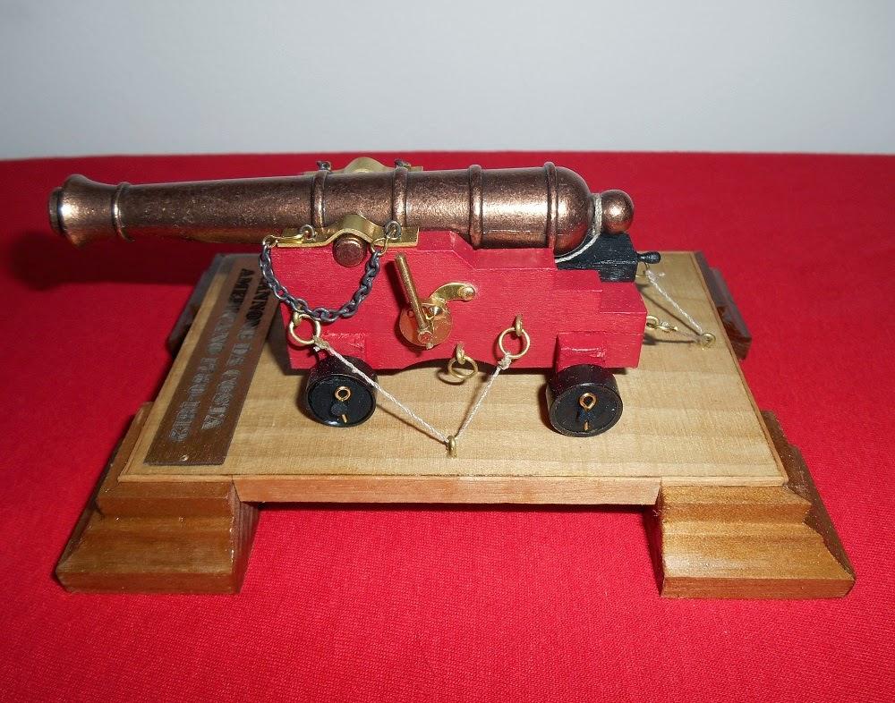 mantual cannone da costa americano