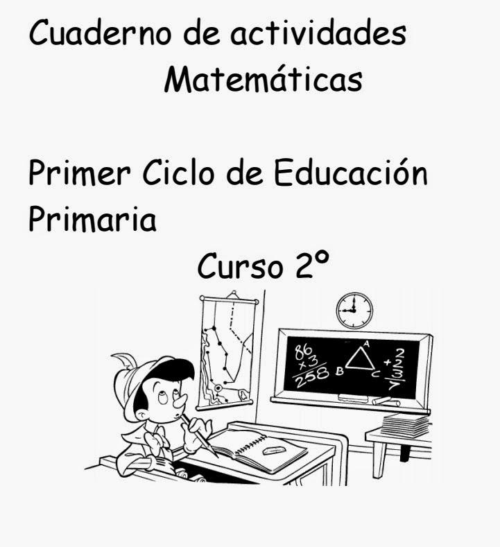 CUADERNO DE ACTIVIDADES DE MATEMÁTICAS 2º PRIMARIA 51 PÁGINAS