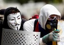 """Máscara de la pelicula """"V"""""""
