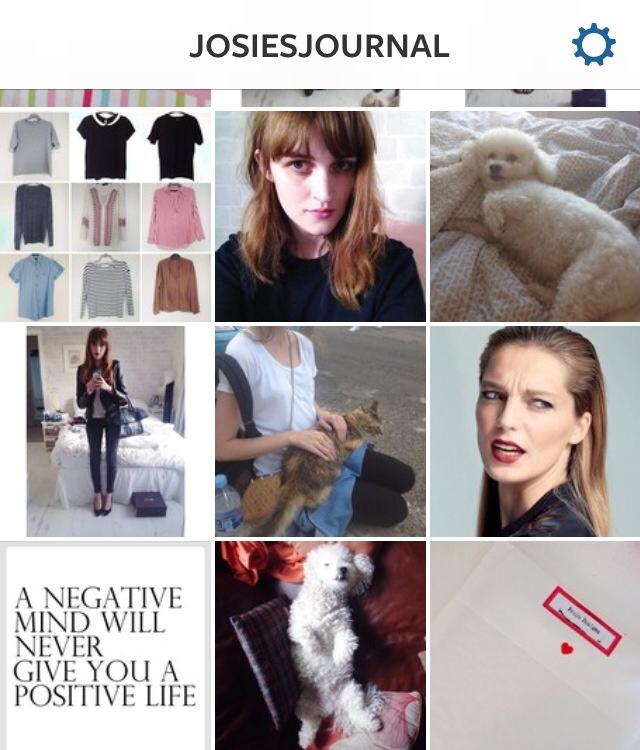 @josiesjournal I heart instagram tag