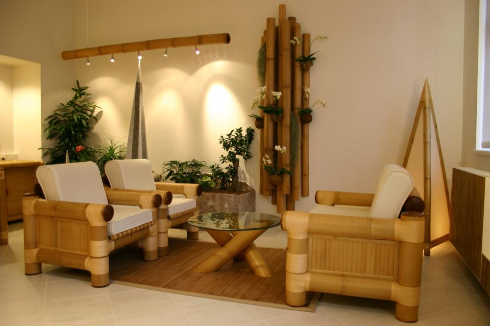Bamboo furniture designs home design idea for Sitting room furniture design