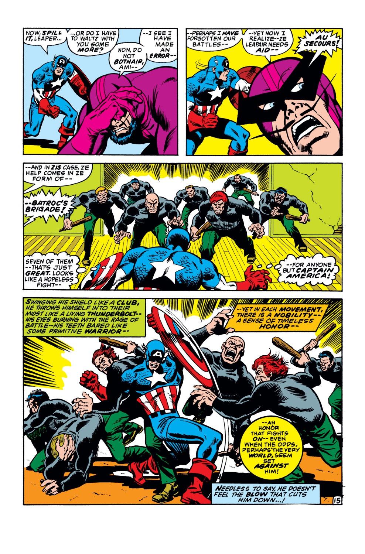 Captain America (1968) Issue #149 #63 - English 16