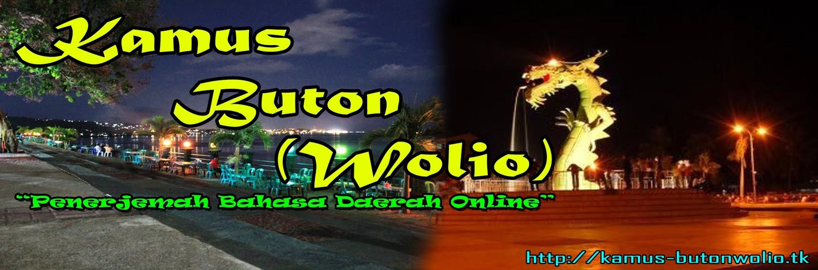 Kamus Buton (Wolio)