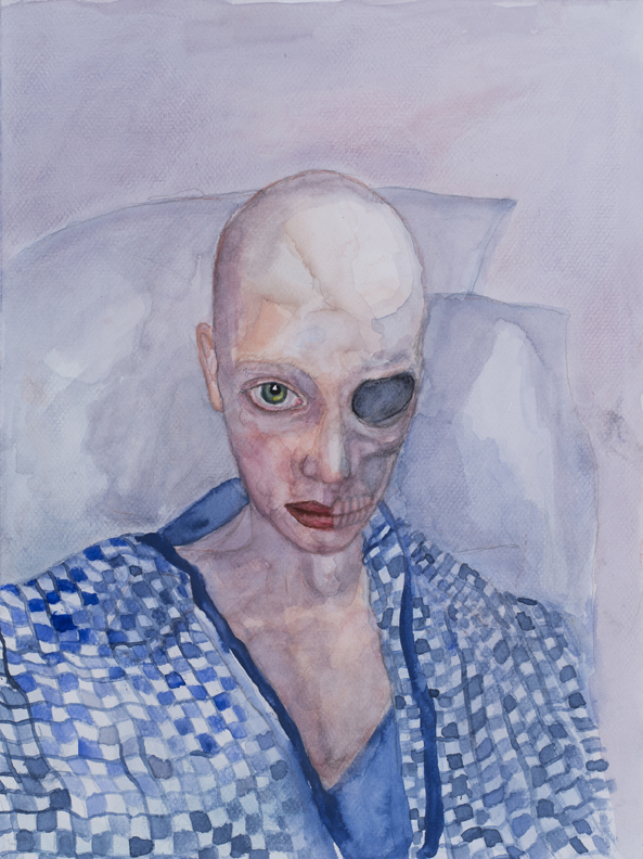 Melissa Carrol - painting cancer