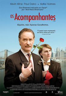 """Cartaz brasileiro do filme """"Os Acompanhantes""""Acompanhantes"""