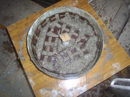 Как из бетона сделать блины