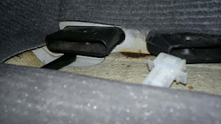 Heat outlet in Toyota Starlet
