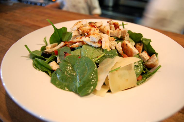 the same time with our Chicken Balsamic Salad featuring Fresh Spinach ...