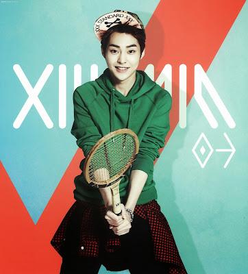 exo xiumin calendar 2014