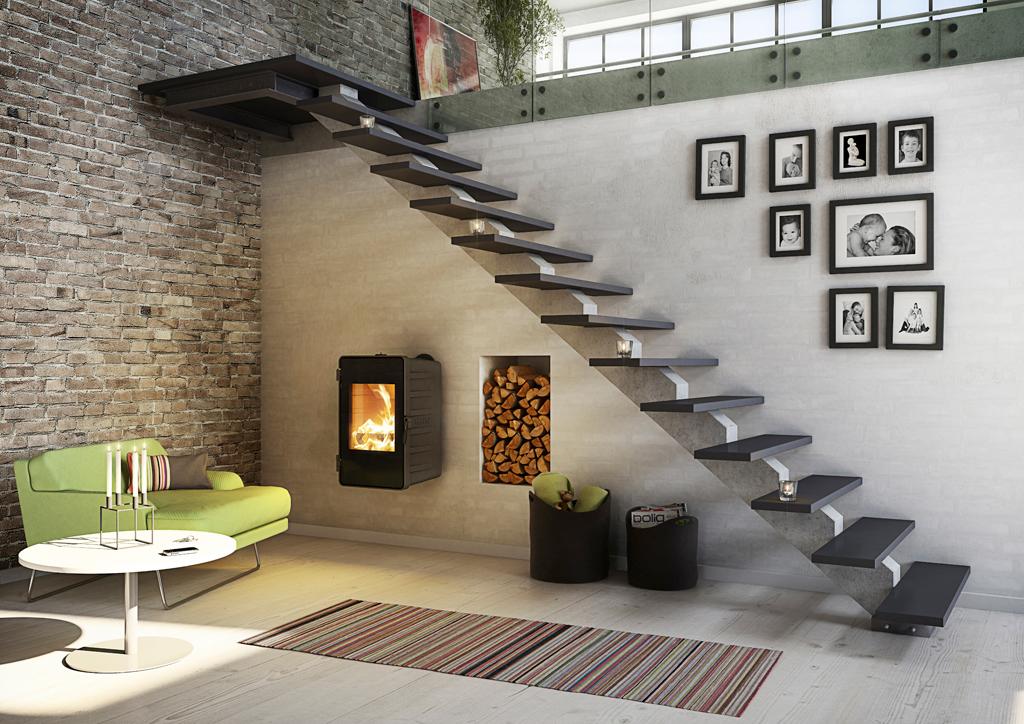 Estilo rustico hogares para ambientes rusticos for Hogares a gas rusticos