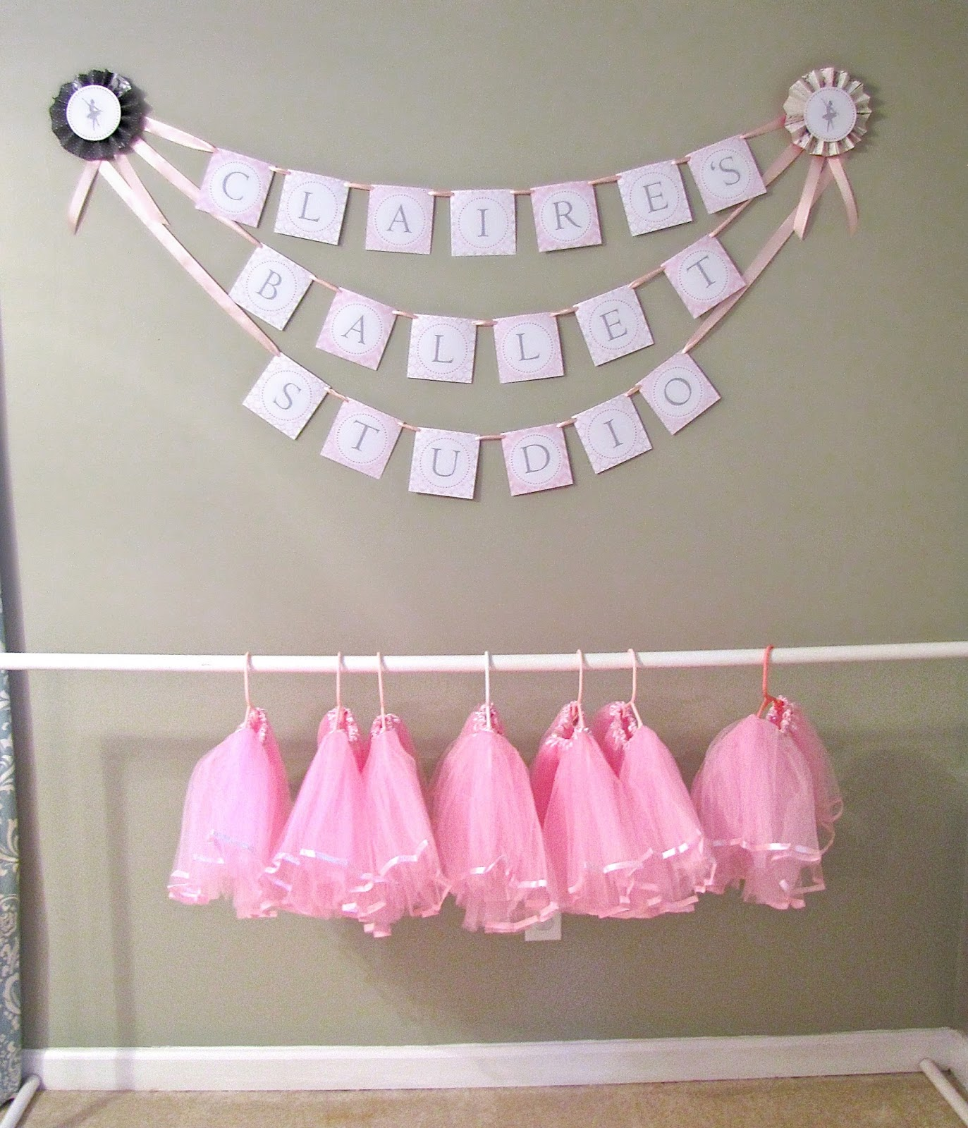 The Modest Homestead Ballerina Birthday Party and a Giveaway