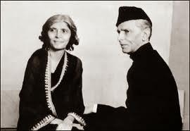 Muhammad Ali Jinnah and Fatima Jinnah