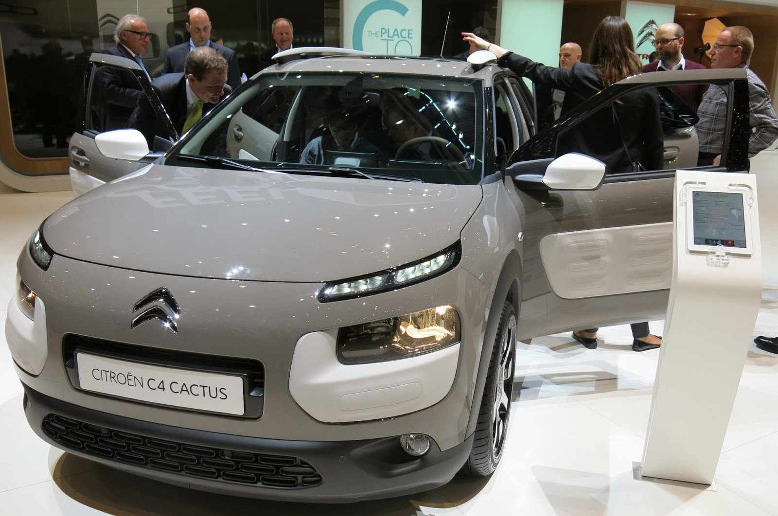 Citroen C4 Cactus the unique design with super technology