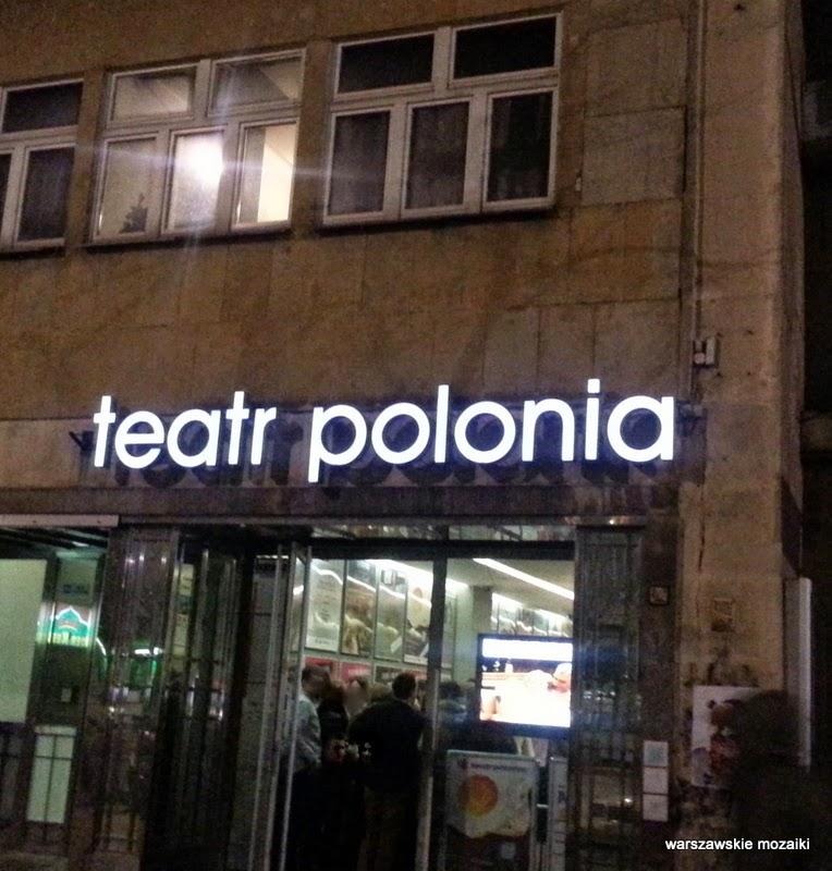 neon Warszawa Śródmieście Saska Kępa Mokotów warszawskie neony