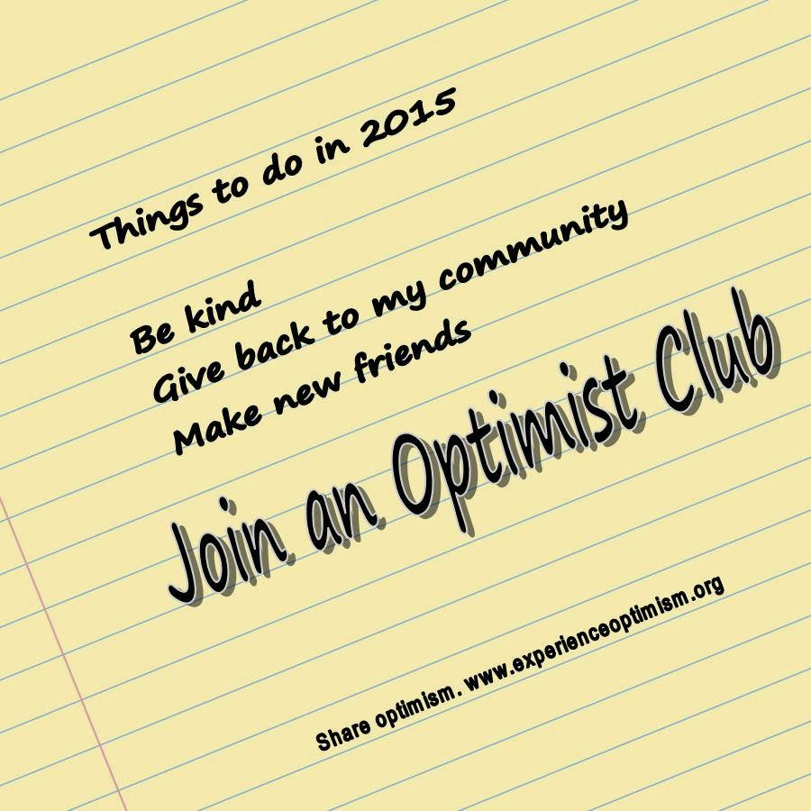Experience Optimism