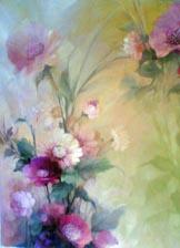 Lukisan Bunga Lilac