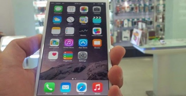 iPhone 6 Plus bất ngờ xuất hiện tại Hà Nội