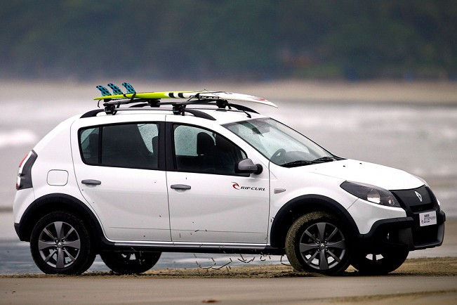 car i Renault Sandero Stepway 2013